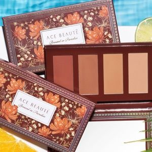 NIB Ace Beaute Bronzed in Paradise palette